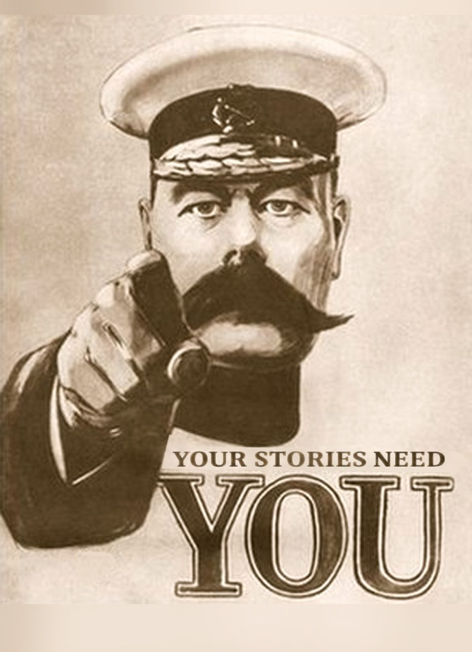 Your stories need you